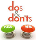 Online Gambling Do's and Don'ts